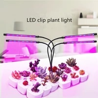 led growth light usb full spectrum plant light with control dimming timing plant seedlings and flowers in indoor growth box