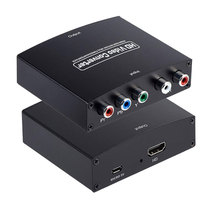 YPbPr R/L to HDMI Compatible Converter 1080P Component Video Converter Audio Adapter Converter for D