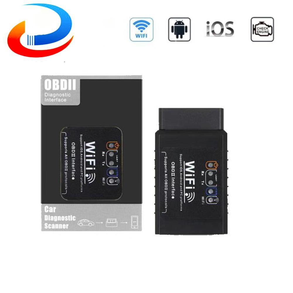 ELM 327 V1.5 WIFI OBD2 Scanner ELM327 obd wifi OBD 2 OBD2 Car Auto Diagnostic Scan WI-FI ODB2 elm327 Code Reader For Android/iOS wifi obdii scan tool elm327 for ios