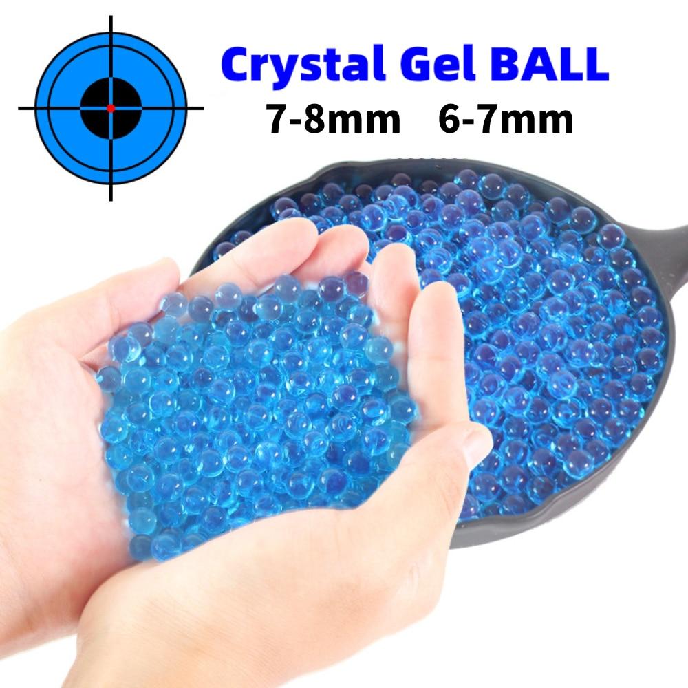 Balas de Gel de Cristal para niños, 6mm, BB, pintura al agua,...