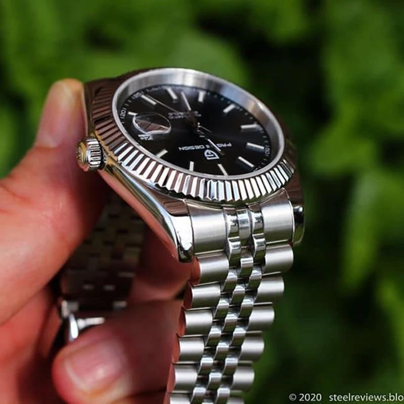 Datejust Men's Watches Top Luxury Brand PAGANI DESIGN Fashion Automatic Mechanical Steel...