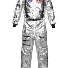 Disfraz de astronauta para mujer, traje de Halloween para hombre, monos, traje de astronauta, disfraces de Cosplay para adultos