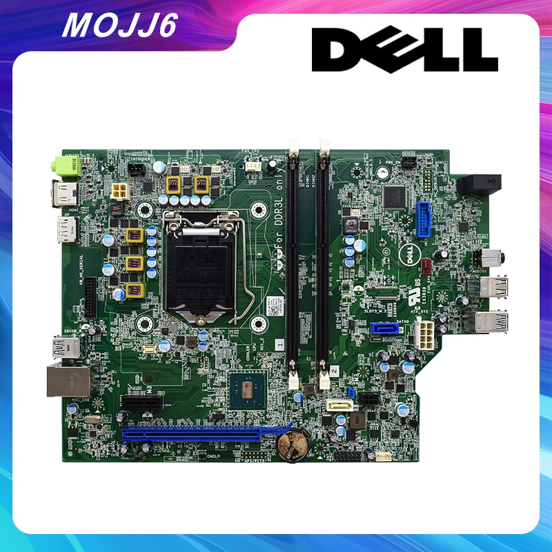 M0JJ6 0M0JJ6 اللوحة الأم الأصلية لديل 3040O SFF اللوحة الأم المستخدمة ملحقات الكمبيوتر CN-M0JJ6 0M0JJ6 100% اختبارها