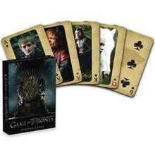 Film Game of Thrones Cosplay accessoires Stark Jon Snow Daenerys Targaryen Dany Dragon mère cartes à jouer jeu de société