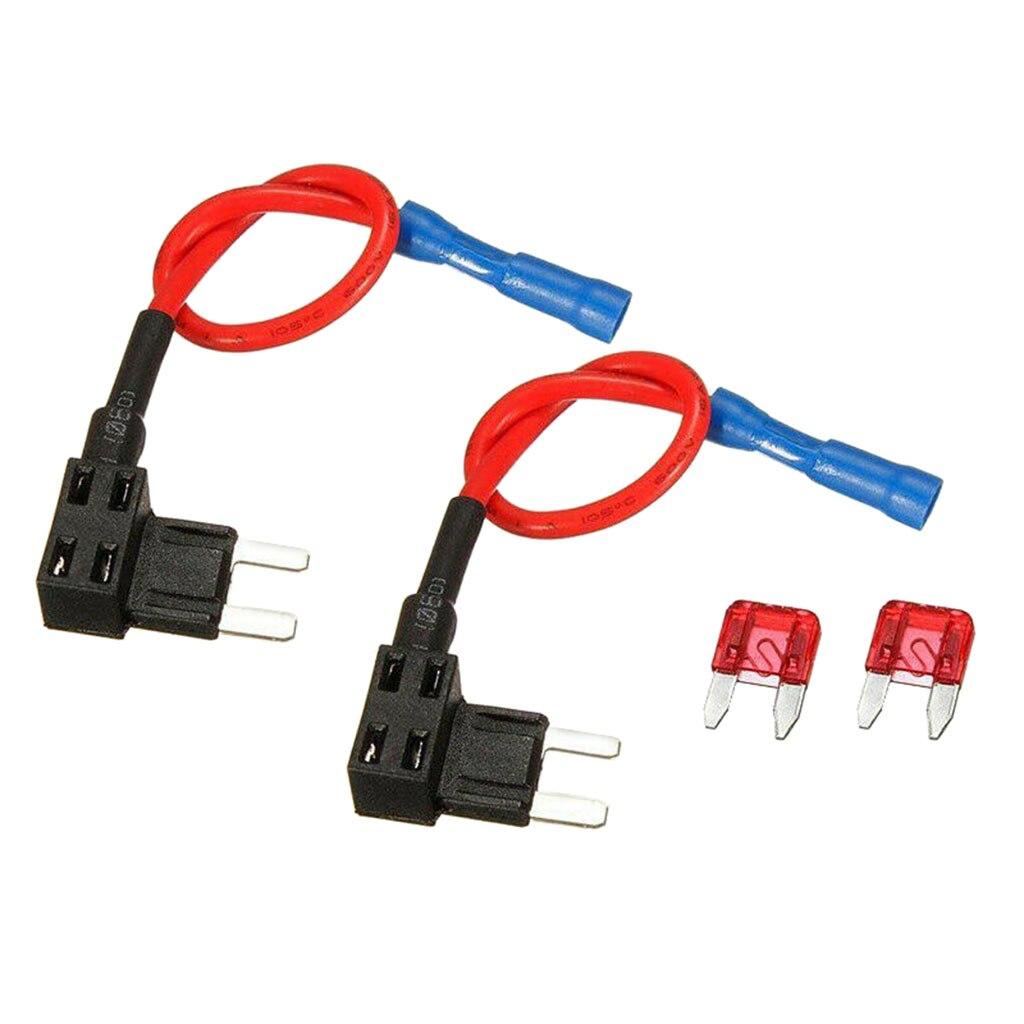 2 uds añadir-un circuito fusible grifo Mini ATM bajo perfil fusible Extractor de 165mm