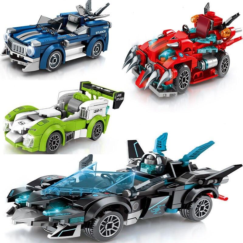 City Speed Champion Super Racers Technic Block Set Diy deportes de competición, modelo Legoinglys, bloques de construcción, juguetes para niños y niñas