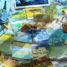 40 pièces/1 paquet Kawaii papeterie autocollants ciel étoilé ins vent journal décoratif Mobile autocollants Scrapbooking bricolage artisanat autocollants