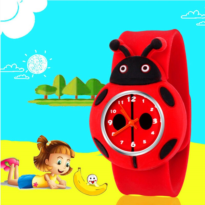 children watch spiderman sets cartoon kids part set watches wallet 3d cartoon child wristwatch and purse for boys girls students Ladybug Cartoon Pattern Children Watches for Girls Gifts Silicone Strap Kids Watch Child Students Quartz Wristwatch Boys Clock