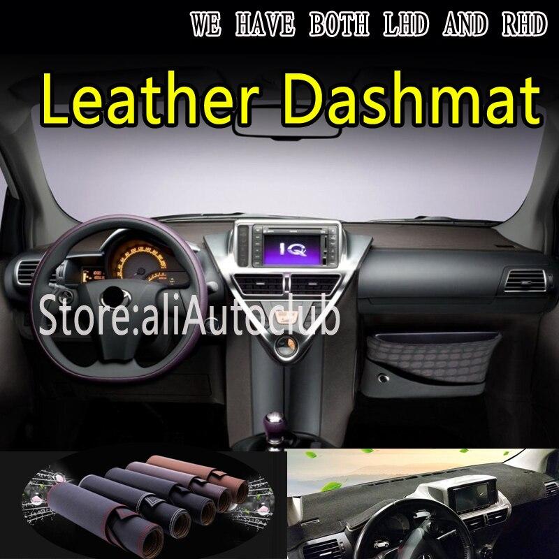 Für toyota scion IQ 2008 2009 2015 Leder Dashmat Dashboard Abdeckung Dash Matte Sonnenschirm Teppich custom Car Styling auto zubehör