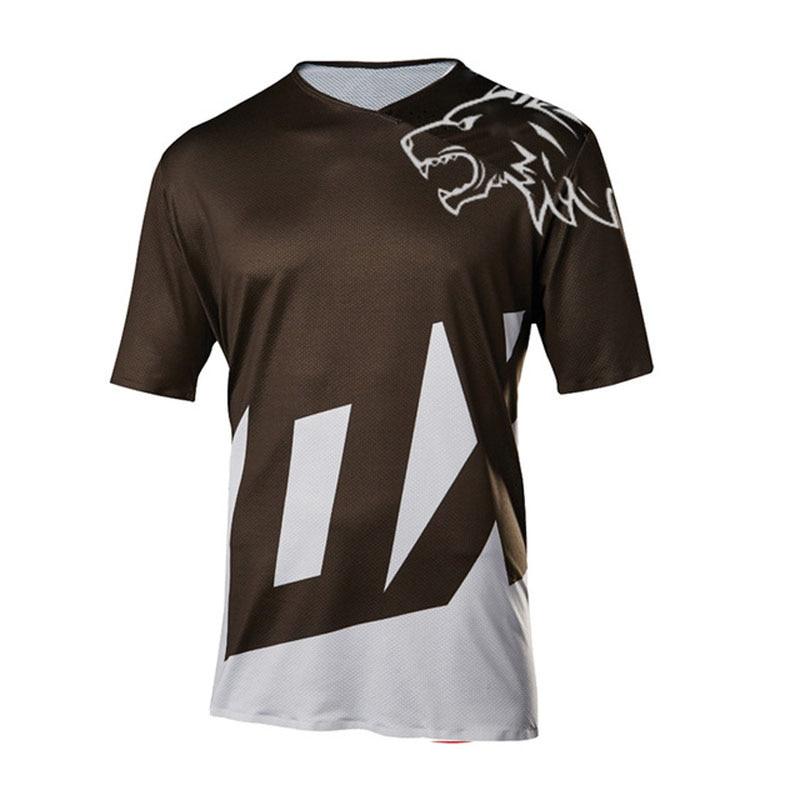 2020 enduro short sleeve motocross jersey mx mtb cycling  for men moto downhill riding dh bicycle shirt FXR FXR  DH MTB