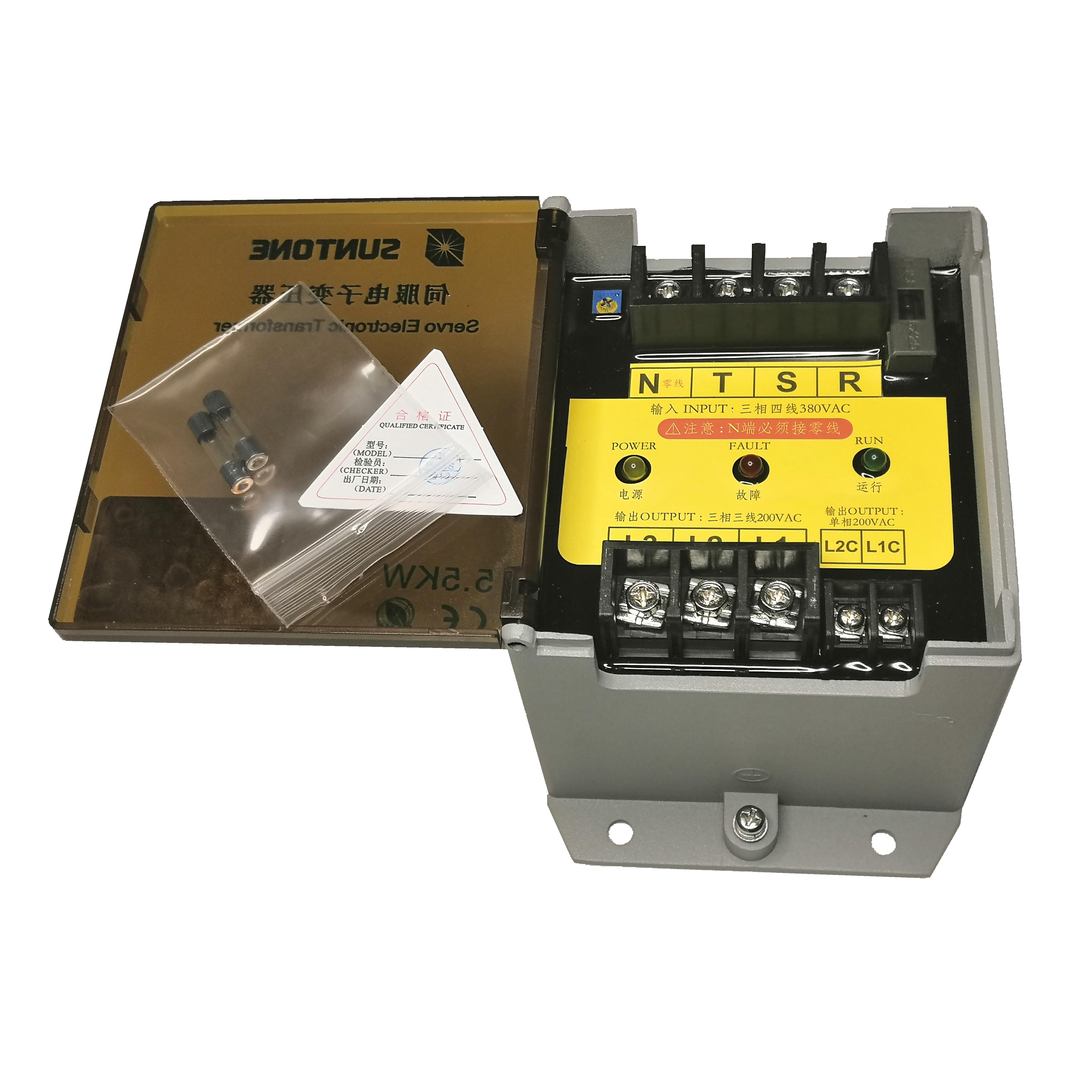 transformador eletronico servo de smp 55kw 1 b y suntone com servo de yaskawa abaixo de 55kw