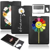universal laptop bag for 11 13 14 15 inch leather stand waterproof sleeve case asus huawei samsung macbook air pro 13