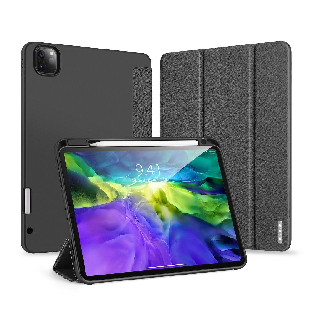 Cubierta de protección para iPad Pro 11 2020 funda protectora de cuero resistente a las caídas con soporte de pluma funda inteligente