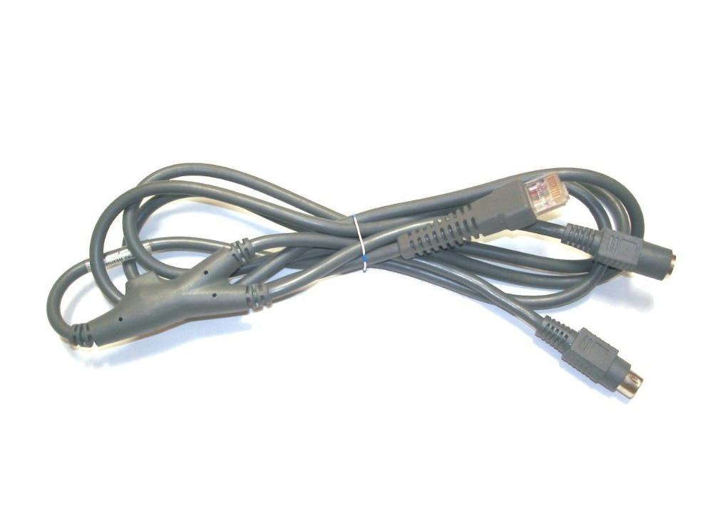 Símbolo Universal PS2 cuña 25-62417-20 para Motorola símbolo LS2208 LS4208 LS9208 DS6607 DS6608