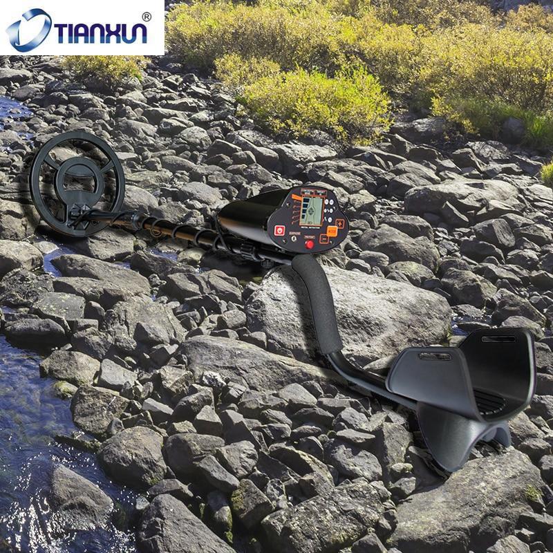 Профессиональный Подземный детектор металла MD-5030 глубокий поисковой детектор золота ЖК-дисплей Охотник за сокровищами сканер для поиска искатель
