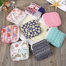 Fashion Mini Purse Travel Cosmetic Bag Make Up Case Floral Women Beauty Organizer Makeup Bag Pouch C