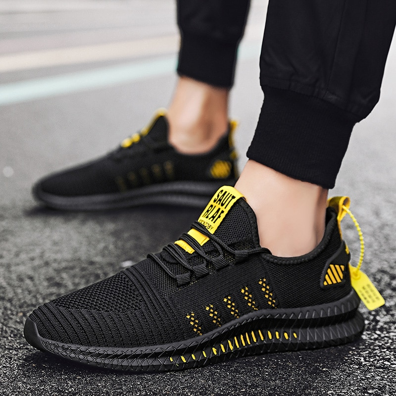 Mens Shoes Casual Sports Super Light Large Size Trendy Outdoor  Sneakers Wear-resistant