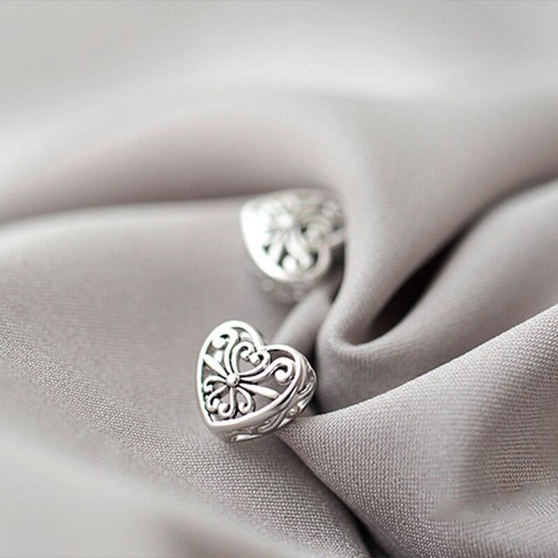 Простая-и-универсальная-бижутерия-в-виде-сердца-из-серебра-925-пробы