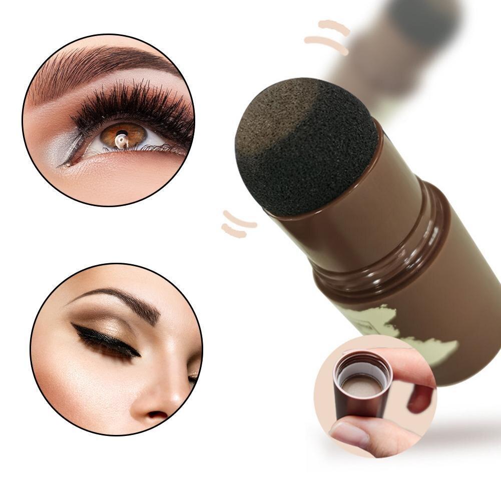 Hair Eyebrow Shadow Hair Line Modified Repair Hair Shadow Trimming Powder Makeup Concealer Natural C