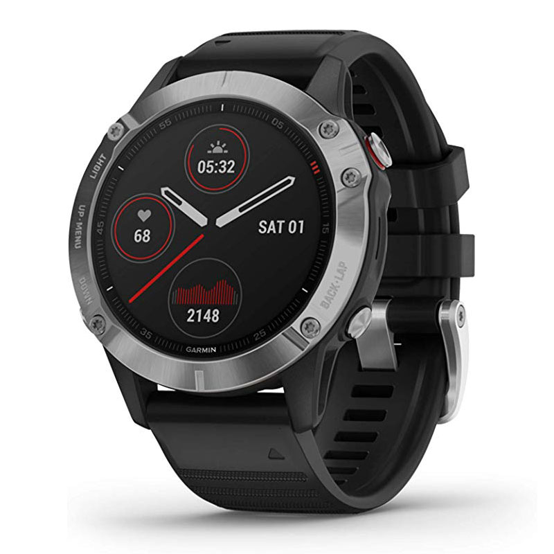Review GPS smart watch men Garmin Fenix 6,Heat and Altitude Adjusted V02 Max, Pulse Ox Sensors and Training Load Focus smartwatch