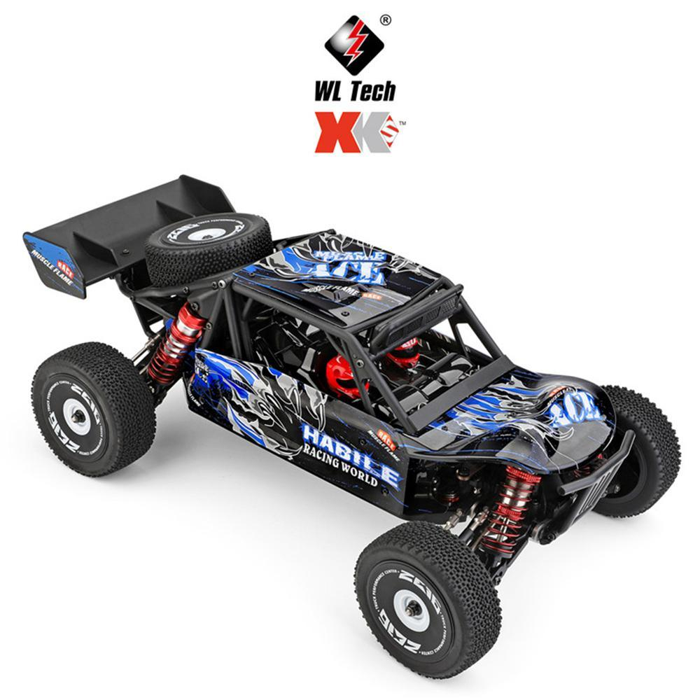 Wltoys 124018 RC Car 2.4g 4WD 60km/h High Speed Car Off-road Crawler RTR Electric Climbing Car Remote Control Toy For Kids Gift 1 12 mn 90k rc crawler car 2 4g 4wd remote control big foot off road crawler military vehicle model rtr remote control truck toy