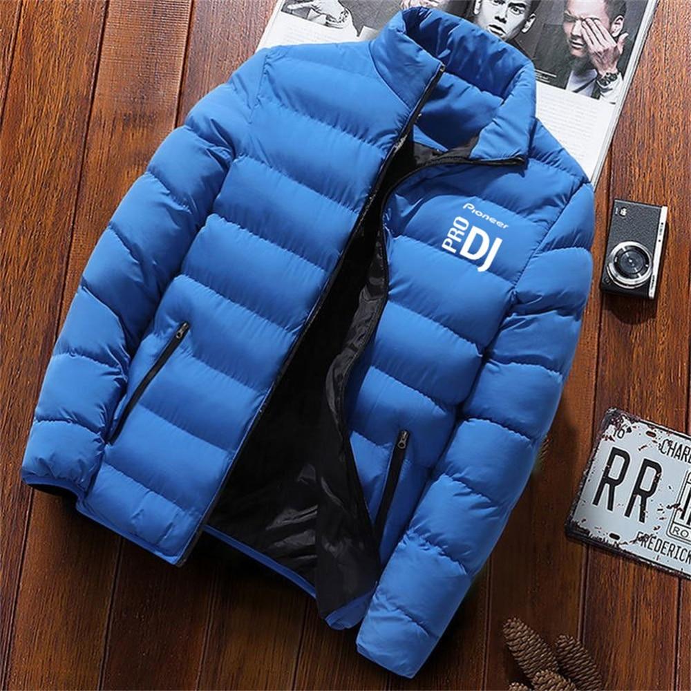 Новая зимняя мужская куртка, утепленная парка, пальто, утепленная куртка на молнии, осенняя куртка, Теплая мужская куртка, ветрозащитная и в...