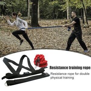 Лента с двойным сопротивлением, тренажер для силовых тренировок и фитнеса, инструменты для тренировок в тренажерном зале, удобное украшение