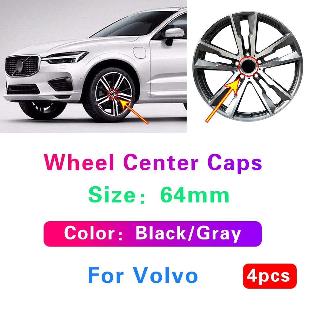 4X 64 мм автомобиль колесная Центральная Кепки s концентратор Кепки Средства для укладки волос Volvo S60 S70 S90 XC90 XC70 XC60 V40 V50 V60 V70 V90 S50 2007 2008