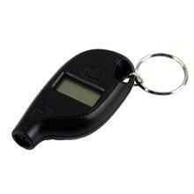 Haute qualité Mini porte-clés numérique LCD pneu voiture pneu manomètre pour voiture Auto moto vente chaude