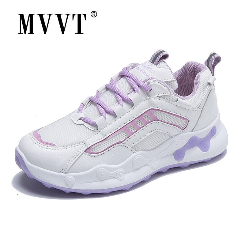 Fashion Running Shoes For Women Sneakers Reflective Breathable Mesh Sport Shoes Outdoor zapatillas de deporte