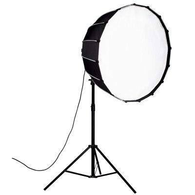 Nanlite 60cm 90cm 120cm softbox paraguas con bowen mount caja suave redonda para 60 60B 200 200w 300w 500w Luz de fotografía