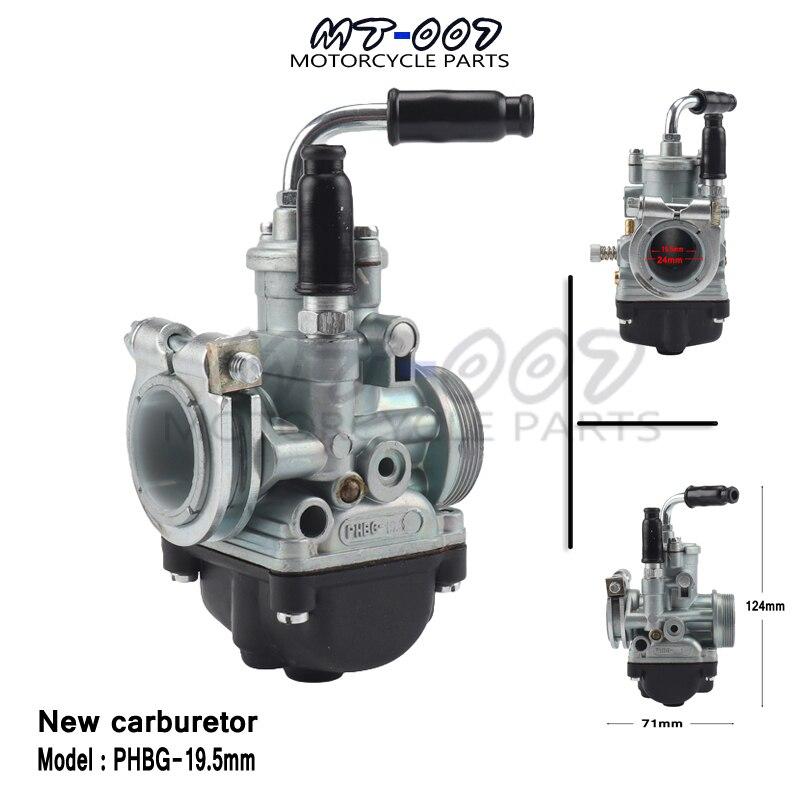 Carburador de motocicleta nuevo carburador para PHBG 19,5mm racing phbg19.5 modelo dellorto YAMAHA