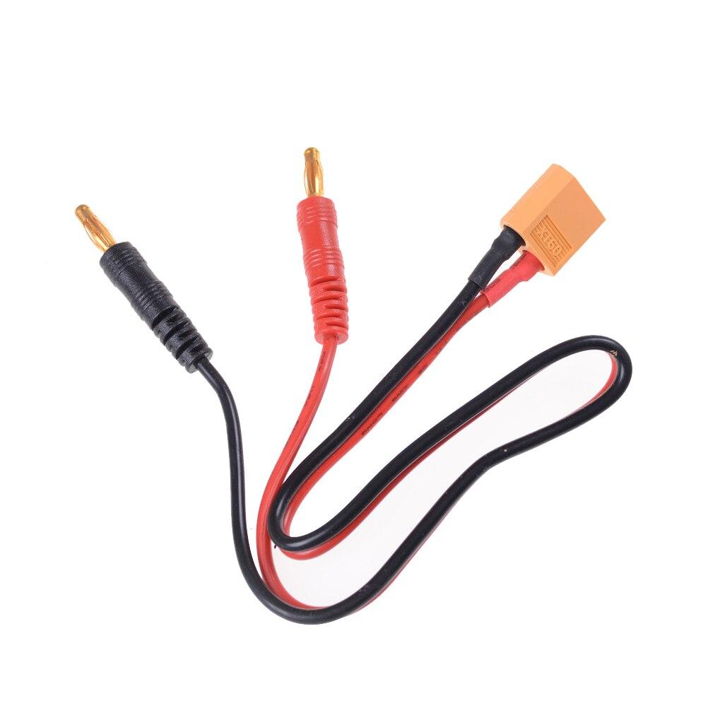 Cable de carga de equilibrio de enchufe Banana XT60 a 4,0, cargador...