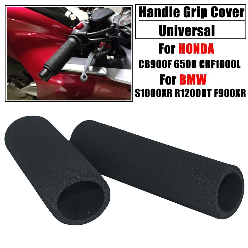 Cubiertas universales antideslizantes para manillar de motocicleta, para Honda CB900F, 650R, 500X, CRF1000L, X-ADV750, BMW S1000XR, R1200RT, F900XR