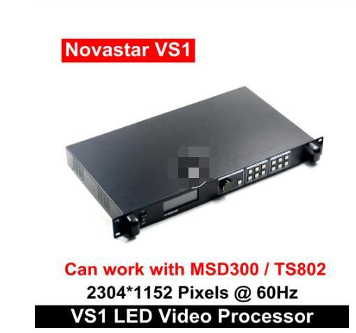 Precio barato videowall Novastar VS1 profesional LED HD procesador de vídeo Compatible con controlador de tarjeta de envío MSD300 TS802