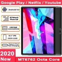 4g lte phone 5g wifi global version 2 5d glass new android 9 0 10 inch tablet 8 cores 1920x1200 wifi gps tablet 10 1free gifts