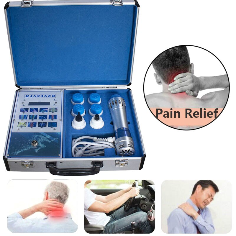 Estimulador muscular eléctrico Eswt, máquina De terapia De ondas De Choque para tratamiento Ed, máquina De terapia De ondas De Choque