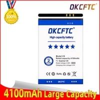 okcftc original 5 5inch for oukitel c8 battery real 4100mah backup battery replacement for oukitel c8 mobile phone