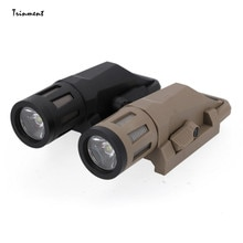 Powerful LED Flashlight 20-21MM Tactical Torch USB Rechargeable Lantern Waterproof Lamp Ultra Bright
