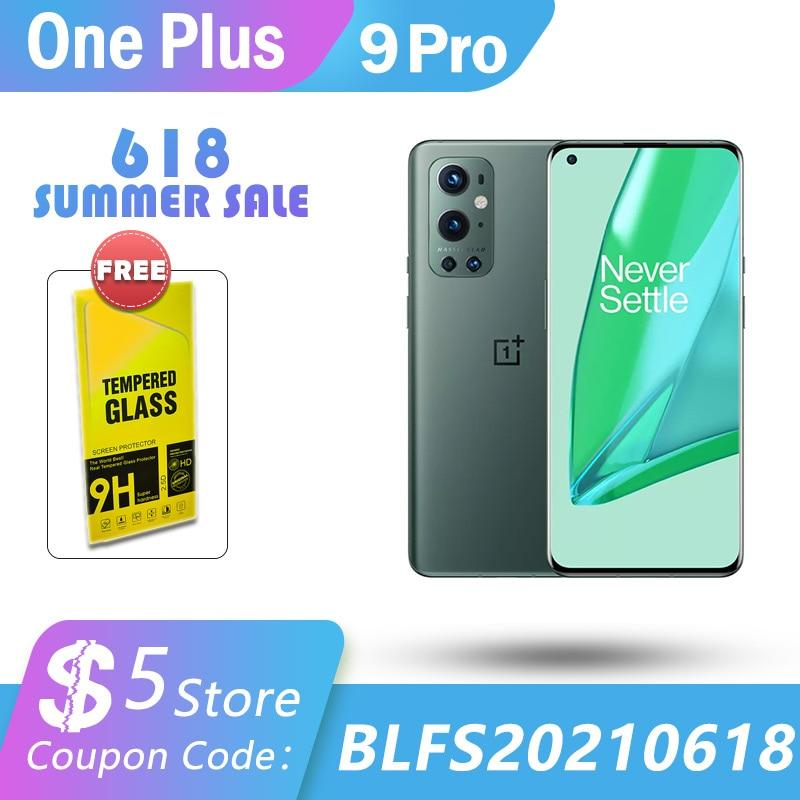 Глобальная прошивка оригинально защитное стекло 9 Pro 5G смартфон 12 Гб RAM 256GBRom Snapdragon 888 120 Гц Экран 65 Вт Обёрточная бумага 50 Вт Беспроводной Заря...
