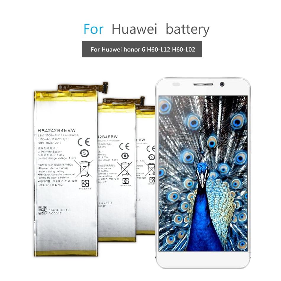 HB4242B4EBW /HB366481ECW/ HB396285ECW батарея для телефона Huawei Honor 4X 6 7i 8 10 Lite honor 8Lite honor7i Lite honor10 honor6