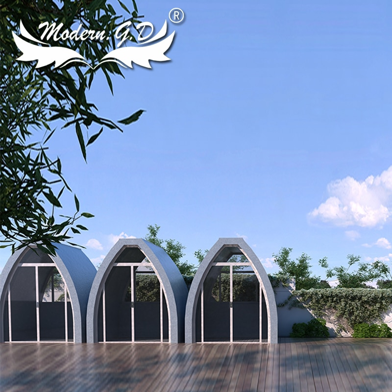 Outdoor Fast house building Modular assembly house warm Tents