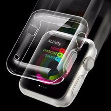 Soft Tpu Protector Case Cover Voor Appels Horloge 38 Mm 42 Mm Smart Horloge All-Inclusive Beschermende Shell Protector siliconen Cover