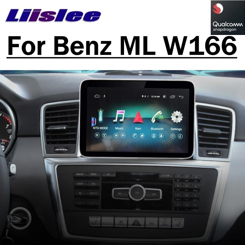 Reproductor Multimedia para coche NAVI para Mercedes Benz MB GL ML GLS GLE X166 W166 2011 ~ 2017, Radio Estéreo CarPlay, navegación GPS 8,4 pulgadas