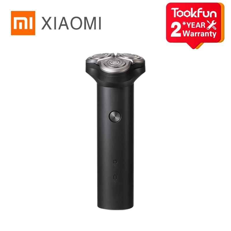 2021 XIAOMI MIJIA Electric Shaver S300 Portable Flex Razor 3 Head Shaving IPX7 waterproof Washable Beard Trimmer trimer Cutter