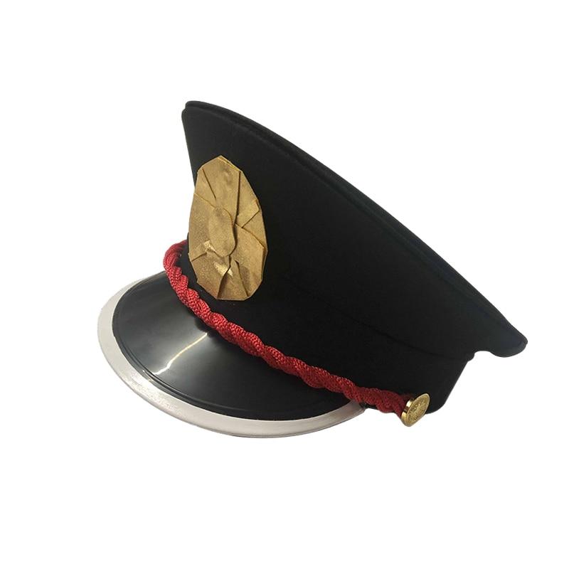 Sombrero Cosplay de Hanako-kun Yugi Tsukasa, gorra de disfraz, accesorio, Jibaku Shounen Hanako Kun, de alta calidad