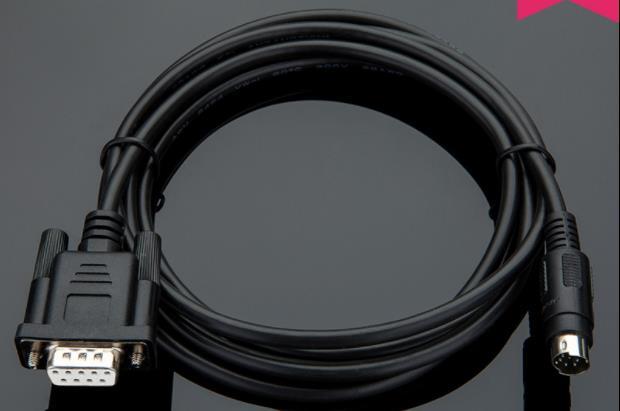 Adecuado 506M MT510T MT500 serie Touch panel conectar Delta DVP serie de programación de PLC, Cable 2,5 M