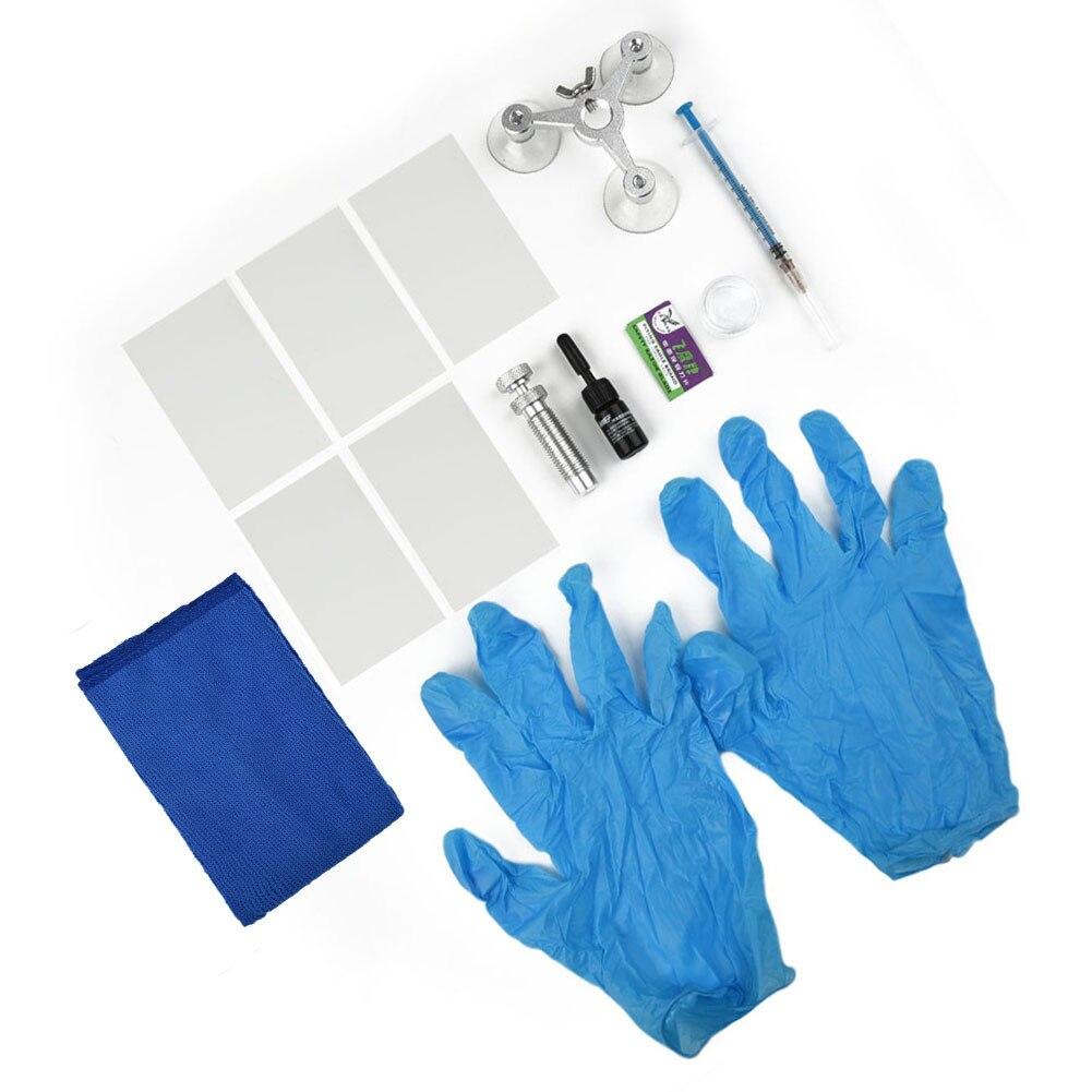 Инструменты для ремонта автомобильных окон «сделай сам», полимерный клей, набор для ремонта ветрового стекла, восстановления царапин и тре...