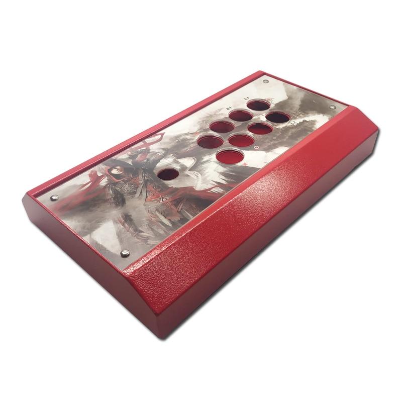 Cdragon-لوحة معدنية لعصا التحكم ، لعبة أركيد ، مجموعة البناء ، مقاومة ، سهلة التركيب
