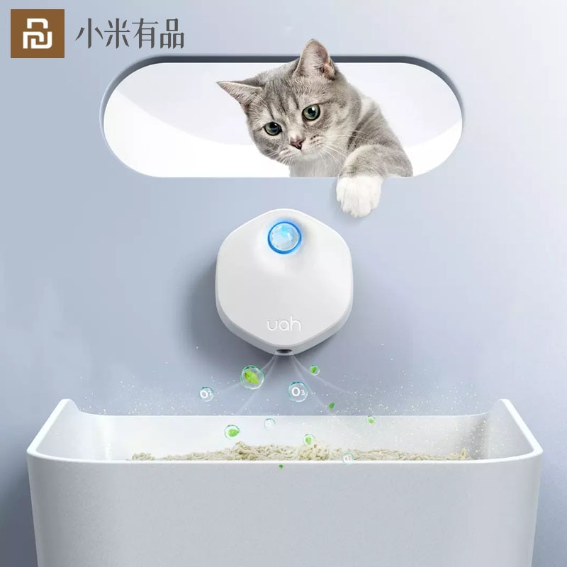 Youpin Smart Cat Odor Filter Scent Deodorant Pet Cat Dog Smell Purifier Ozone Generator Air Purifier Lonizer For Pet Supplies
